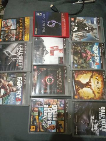 Jogos PS3 50 cada