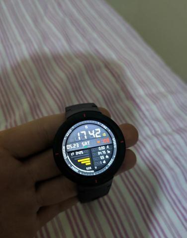 Relógio smartwatch Amazfit verge normal - Foto 4