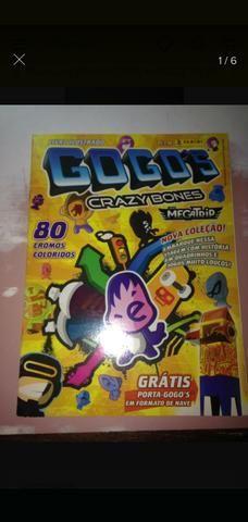 Album GOGO's gogos CRAZY BONES FALTAM SO 2 figurinhas