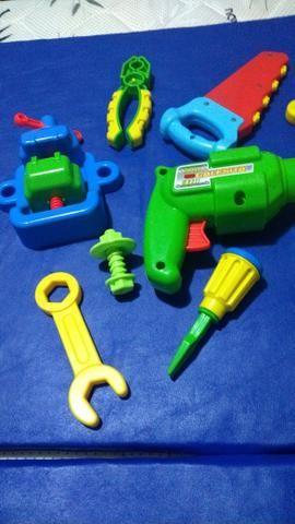 Conjunto de ferramentas novinhas - Foto 3