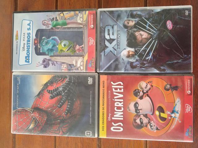 DVDs originais infantis e de ação - Foto 2