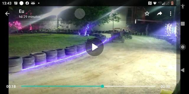 Vendo pista com 3 mini buggy caioba - Foto 3
