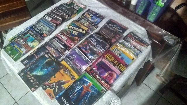 29 jogos PS2 - R$ 50,00 - Foto 3