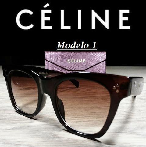 Óculos Feminino Céline Quadrado 5689 com Proteção UV