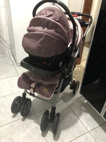Carrinho de bebê ( menina) baby style - Foto 5