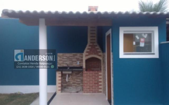 Excelente Casa em Itaipuaçu c/ 2Qtos (1 suíte), churrasqueira e chuveirão. - Foto 15