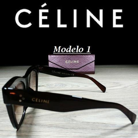 Óculos Feminino Céline Quadrado 5689 com Proteção UV - Foto 2