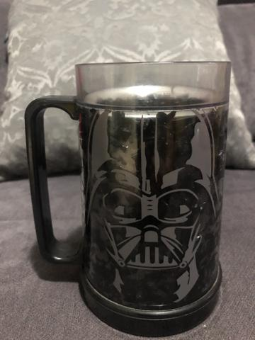 Caneca de acrílico Star Wars Darth Vader de congelar