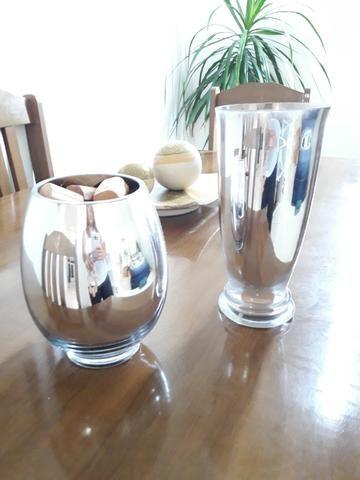 Centro de mesa, jarro, vaso, cesta rústica - Foto 3