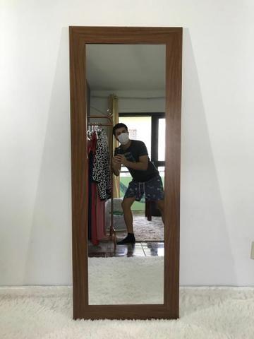 Espelho moldura de madeira 160x60 - Foto 5