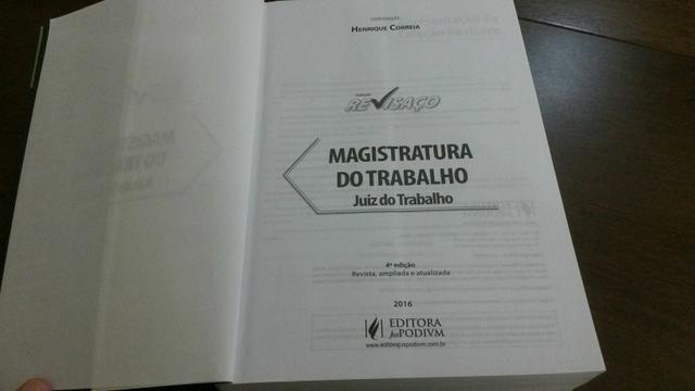 Desapego: Revisaço Juiz do Trabalho e livros jurídicos magistratura Direito - Foto 3