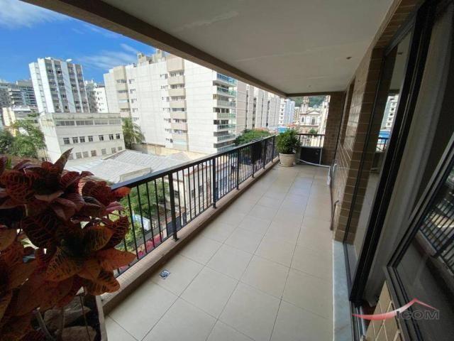 Apartamento com 3 dormitórios para alugar, 116 m² por R$ 2.900,00/mês - Botafogo - Rio de  - Foto 6