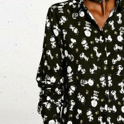 Camisa blusão snoopy riachuelo