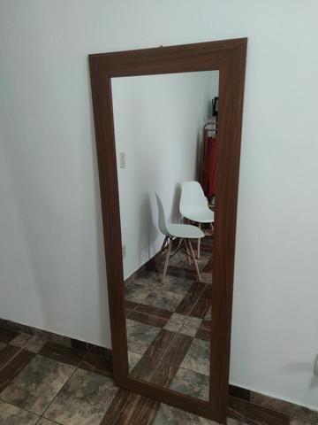 Espelho moldura de madeira 160x60 - Foto 4