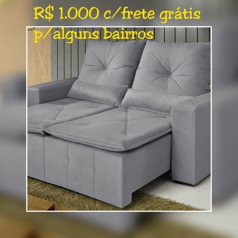 SOFÁ Retratil e reclinável Bahia/ Frete Grátis para maioria dos bairros.