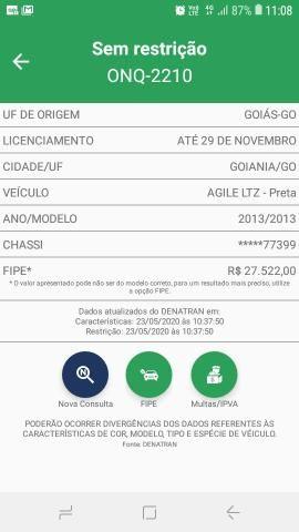 Agile 1.4 LTZ manual 2013 - Carro de concessionária Goiânia - Foto 16