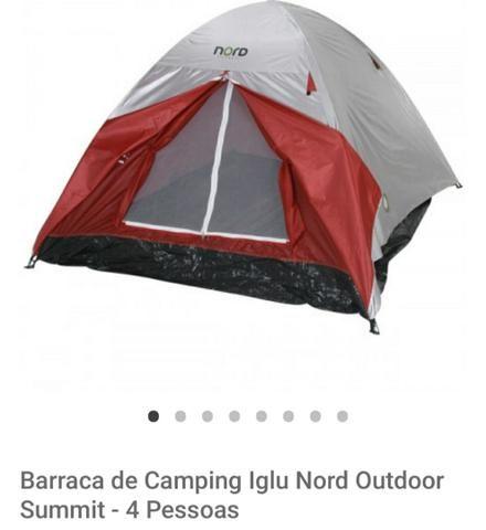 Barraca acampamento (4 Pessoas)