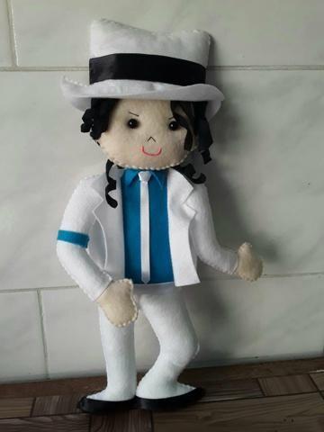 Michael Jackson em feltro