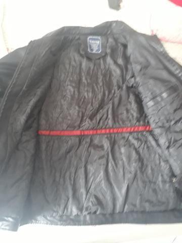 Jaqueta couro legítimo