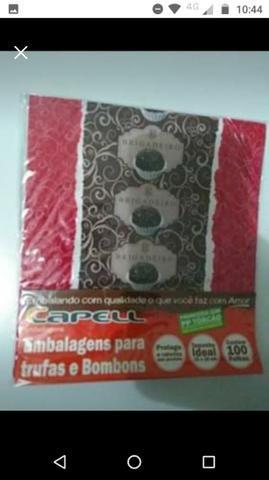 Papel embalagem para trufas - Foto 2