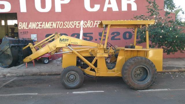 Trator Pá Carregadeira Massey Ferguson 86