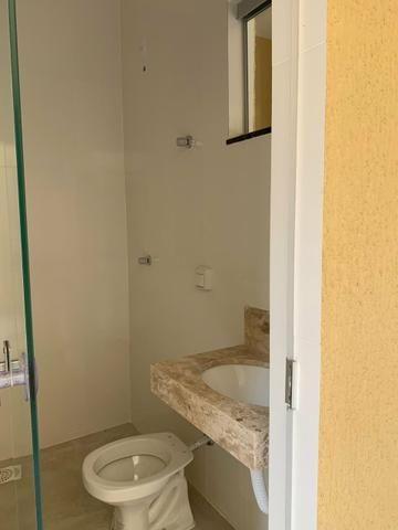 Casa nova 3 suítes plenas, sala com pé direito duplo, porcelanato, financia - Foto 14