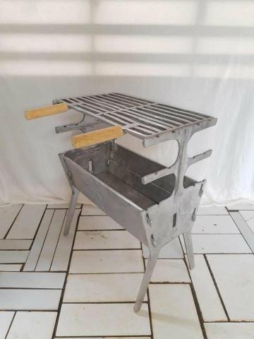 Churrasqueira de alumínio a partir de 125 reais - Foto 2