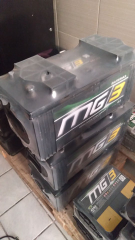 Bateria mg3 150 ah 1 ano de garantia