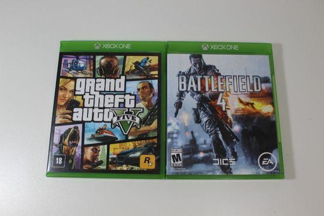 Xbox One 500 Gb + GTA V + Battlefield 4 + Bateria + Adaptador p/ headset - Foto 6
