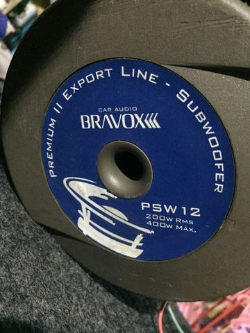 Subwoofer 12 Bravox + Módulo + Caixa - Foto 10