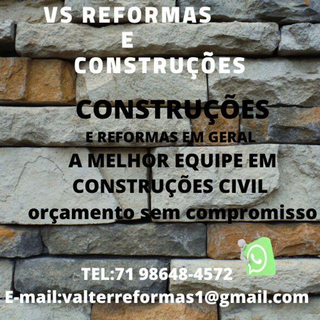 VS Reformas e construções