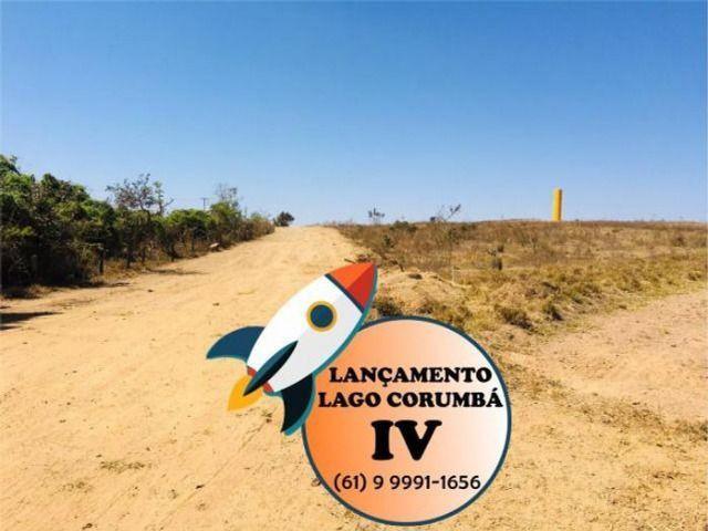 Parcelas de 399 lotes planos / lago / Corumba iv - Foto 6