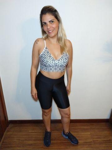 Conjunto de Ginástica-Saia short e Top-Short e top - Foto 3