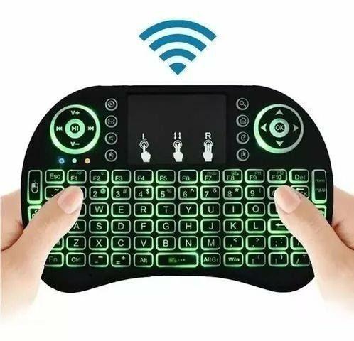 Mini teclado sem fio whirelles tv box notbook , playstation , xbox (aceito cartão ) - Foto 3