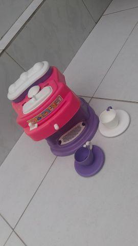 Brinquedo de máquina de suco e cafeteira - Foto 2