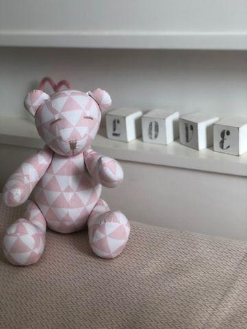 Urso Decoração quarto Menina - Foto 4