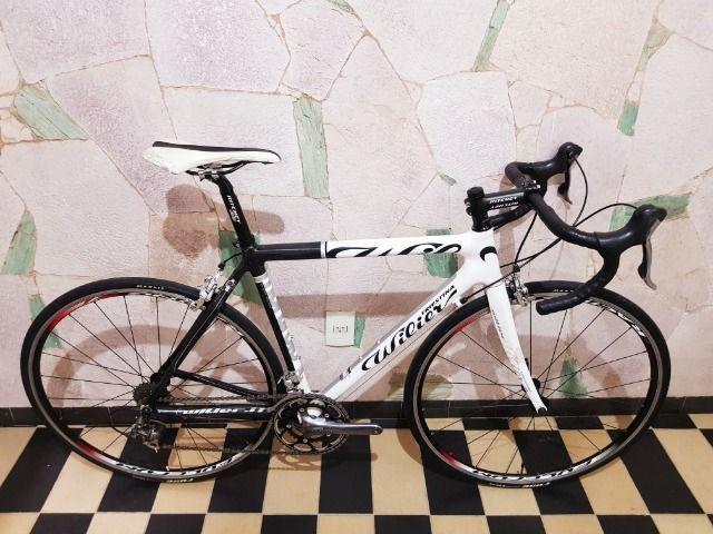 Bicicleta Speed Wilier Triestina Mortirolo - Carbono - Foto 6