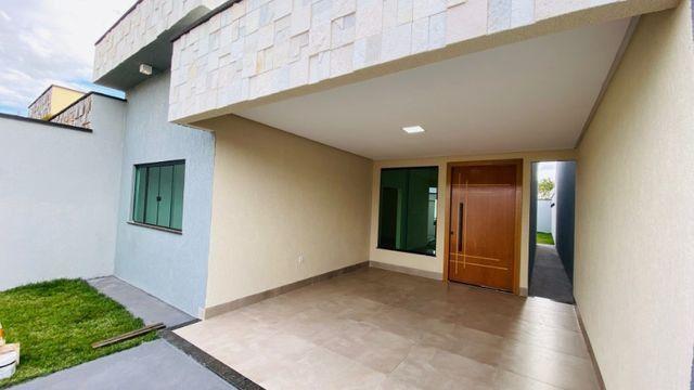 Casa Nova, Linda, Acabamento Impecável - 03Qtos, Quintal + Ampla Área Gourmet!! - Foto 2