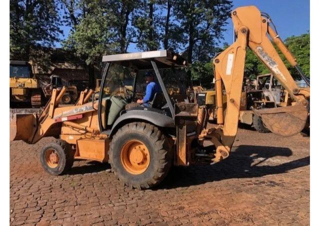 Retroescavadeira Case 580M 4X4 Ano 2009 - Foto 4