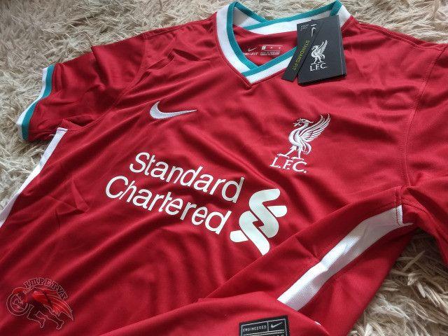 Camisa Liverpool 1 2020/2021 - Foto 3