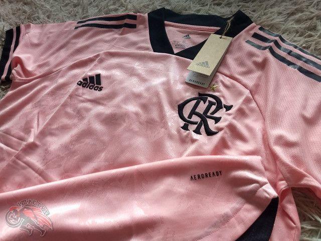 Flamengo Rosa 2020/2021 - Foto 2