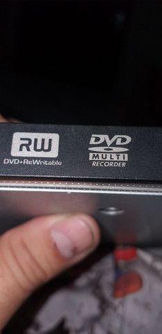 Gravador e leitor de dvd e cd  rw - Foto 2