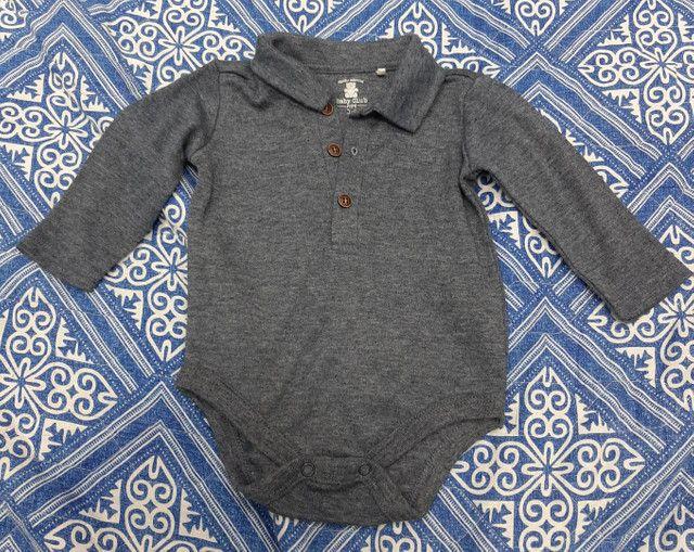 Lote Roupa Bebê Inverno Calça Manga Longa Carters CeA - Tamanho 3 a 6 meses - 6 peças - Foto 6