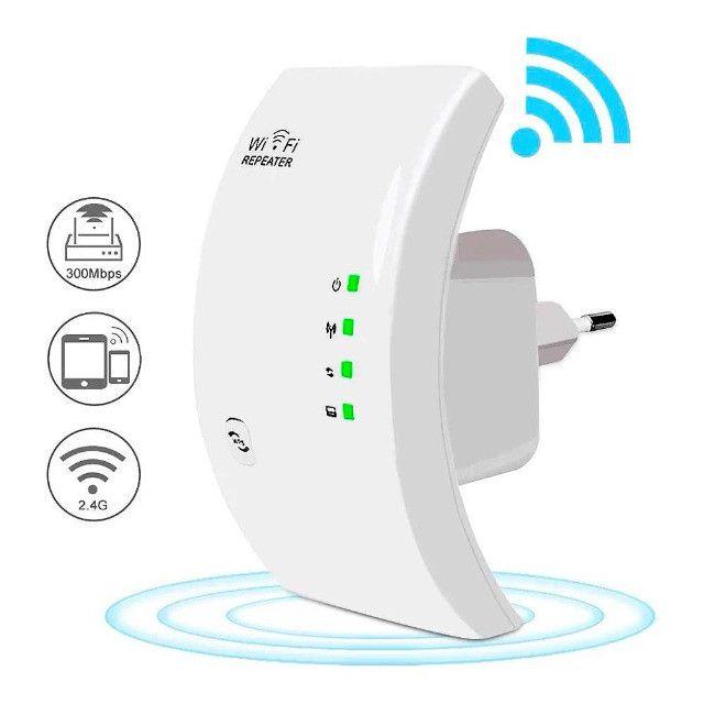 Repetidor Sinal Wifi 300mbps Receptor Wireless - Foto 2