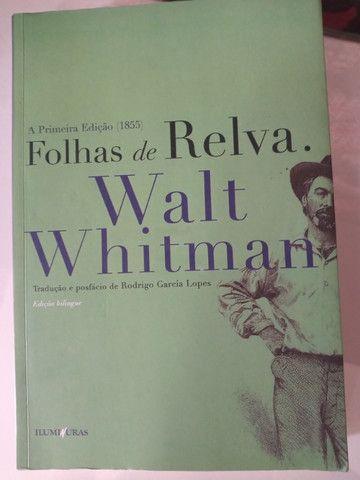Folhas da Relva de Walt Whitman Edição Binlíngue