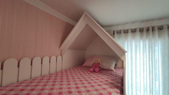 Móvel infantil cama com escrivaninha - Foto 3