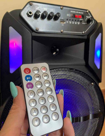 Caixa de Som 3000W Bluetooth Microfone S/ fio e Controle Remoto! ?? - Foto 5