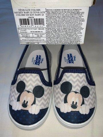 Tênis Iate Mickey Baby Menino Novo na caixa - Foto 3