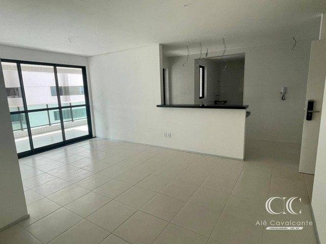 Apartamento com 3 dormitórios à venda, 114 m² por R$ 950.000,00 - Guaxuma - Maceió/AL - Foto 3