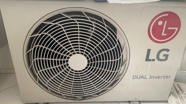 Ar-Condicionado Split LG Dual Inverter Voice S4-Q12JA31C Frio 12.000 BTUs - 127V - Foto 2